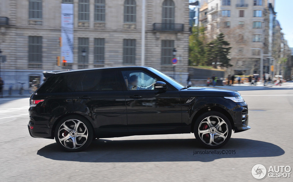 land rover overfinch range rover sport supercharged 2014 1 august 2015 autogespot. Black Bedroom Furniture Sets. Home Design Ideas
