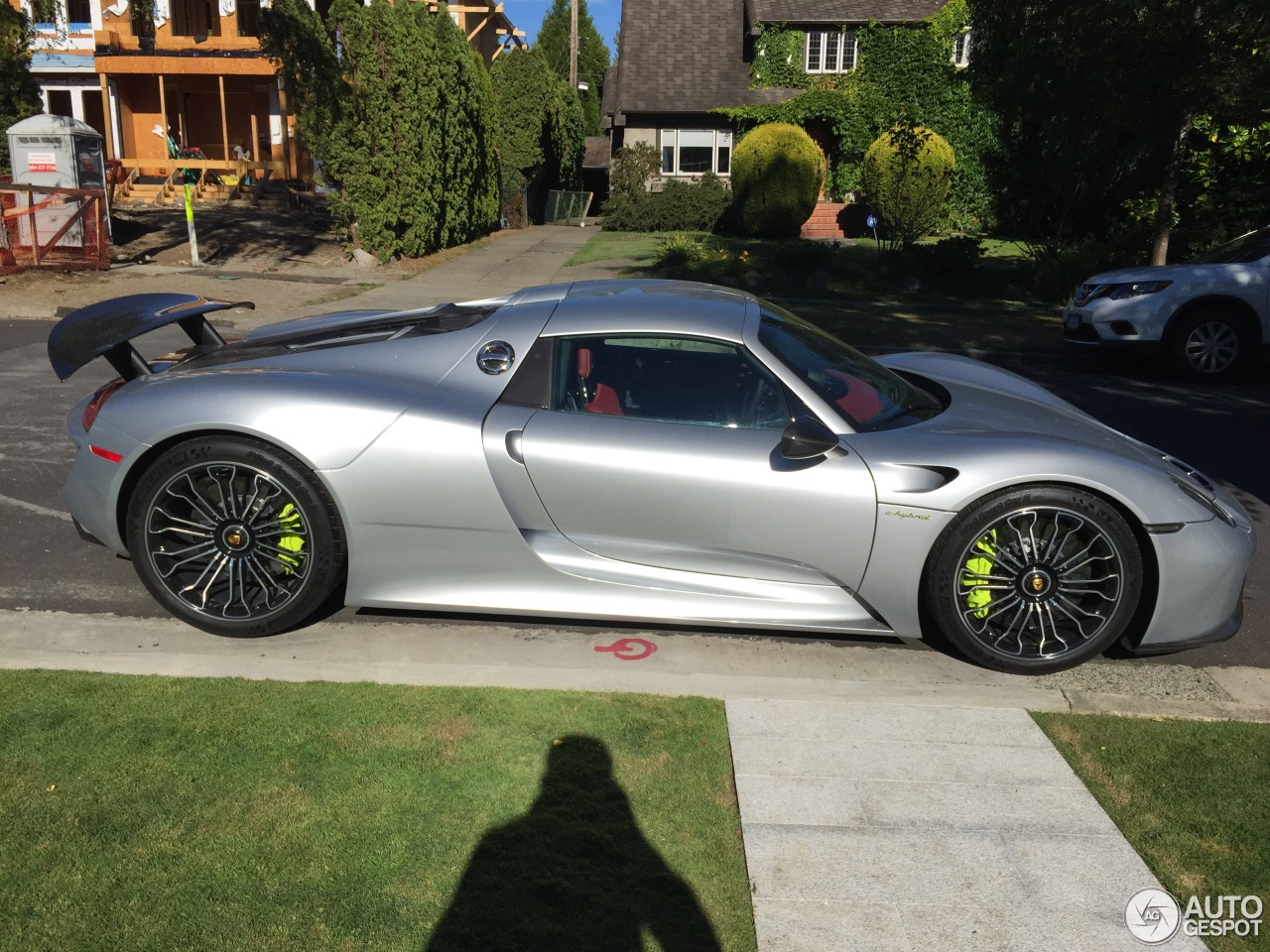 porsche 918 spyder 1 august 2015 autogespot. Black Bedroom Furniture Sets. Home Design Ideas