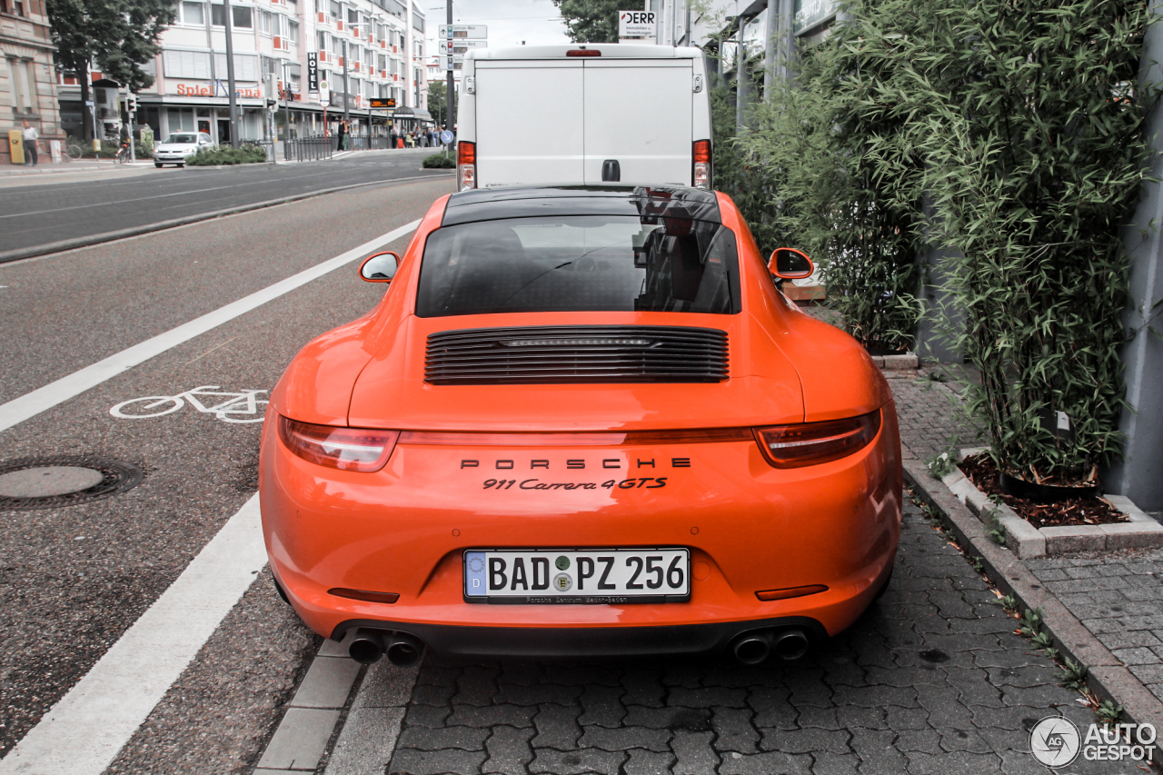 Porsche 991 Carrera 4 Gts 1 August 2015 Autogespot