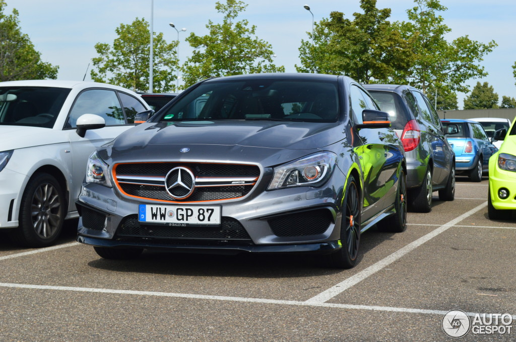 Mercedes-Benz CLA 45 AMG Shooting Brake OrangeArt Edition - 2 August ...