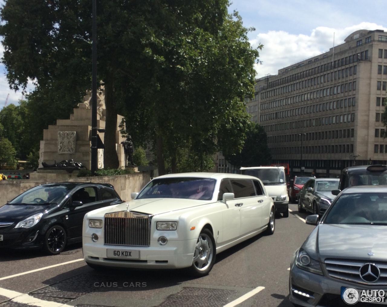 Rolls Royce Phantom Limousine 3 August 2015 Autogespot