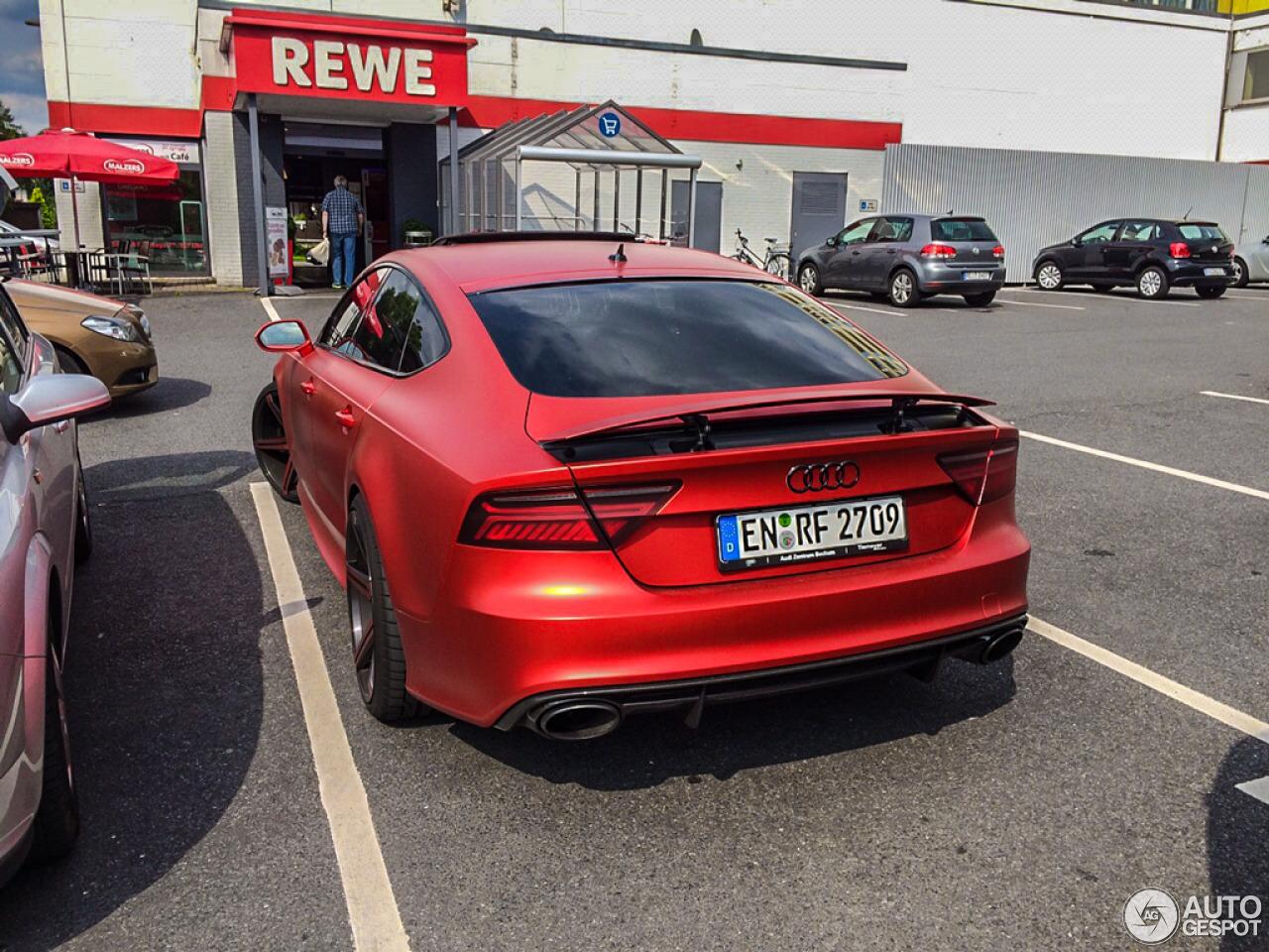 Audi Rs7 Sportback 2015 4 August 2015 Autogespot