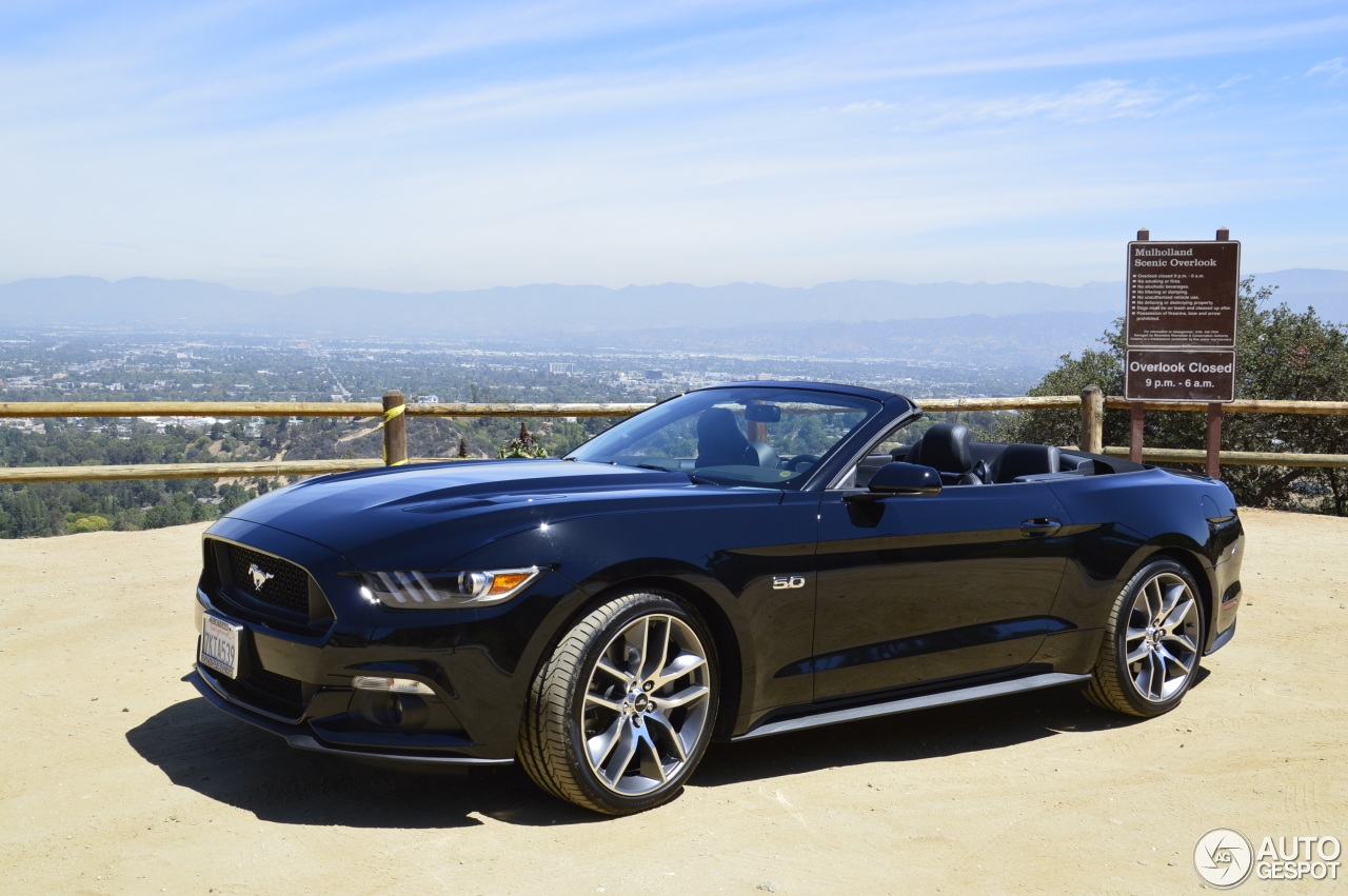 Ford Mustang GT Convertible 2015 - 5 August 2015 - Autogespot  Ford Mustang GT...