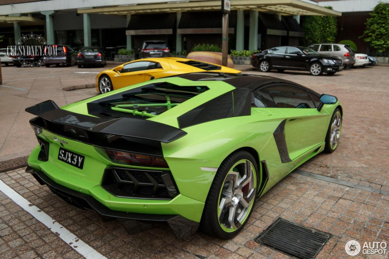 Lamborghini Aventador Black Price >> Lamborghini Mansory Aventador LP700-4 - 5 August 2015 - Autogespot