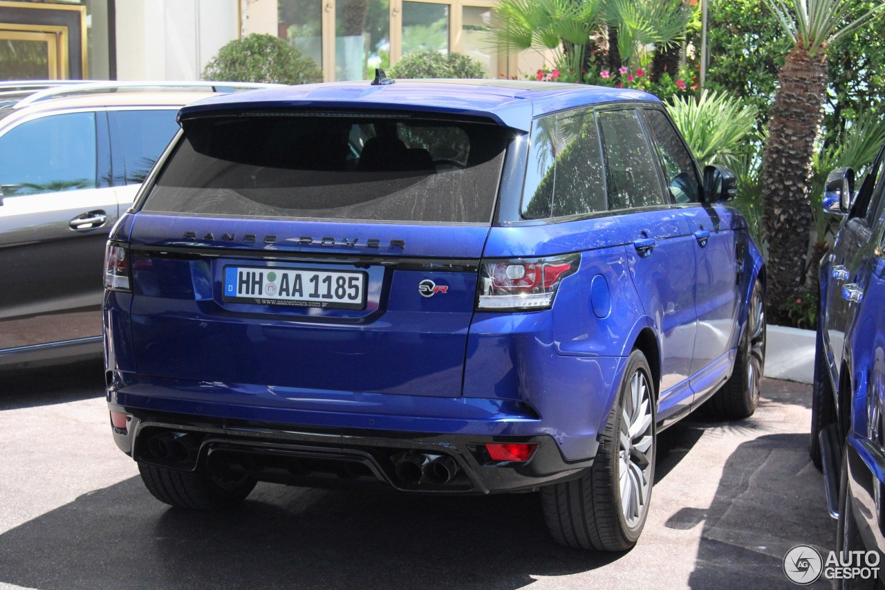 land rover range rover sport svr 7 ao t 2015 autogespot. Black Bedroom Furniture Sets. Home Design Ideas