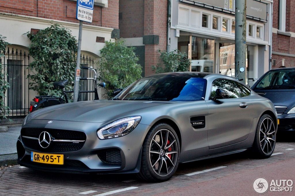 Mercedes Amg Gt S C190 Edition 1 7 Augustus 2015