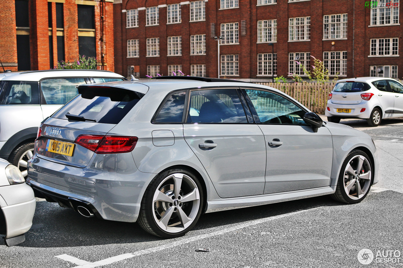 audi rs3 sportback 8v 9 ao t 2015 autogespot. Black Bedroom Furniture Sets. Home Design Ideas