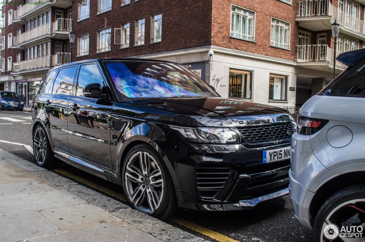 Land Rover Chicago >> Land Rover Range Rover Overfinch GT SVR - 11 August 2015 - Autogespot