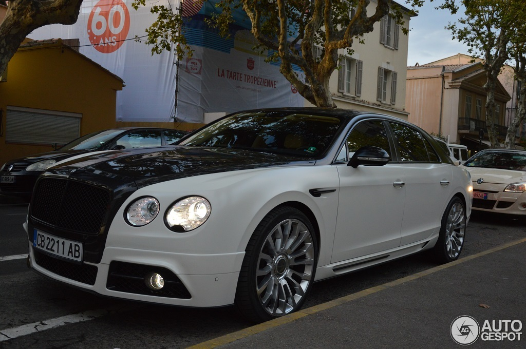 Bentley Mansory Flying Spur W12 12 August 2015 Autogespot