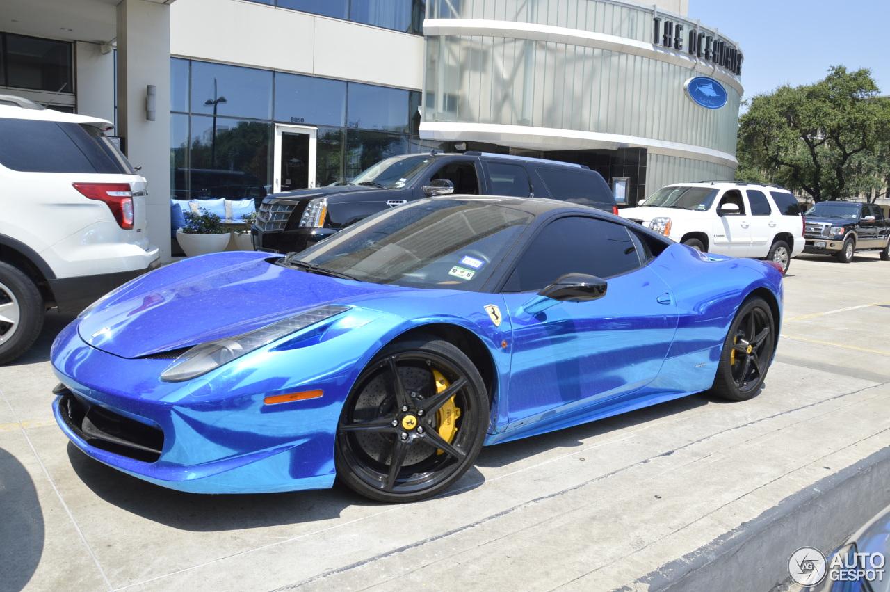 1 i ferrari 458 italia 1 - Ferrari 458 Italia Blue