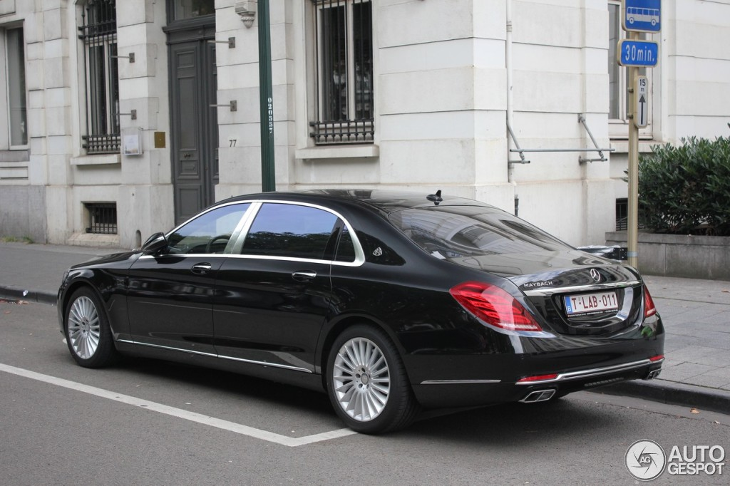 Mercedes maybach s600 14 august 2015 autogespot for 2006 mercedes benz s600 for sale