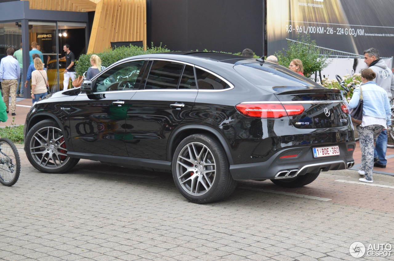Mercedes Amg Gle 63 S Coup 233 15 August 2015 Autogespot