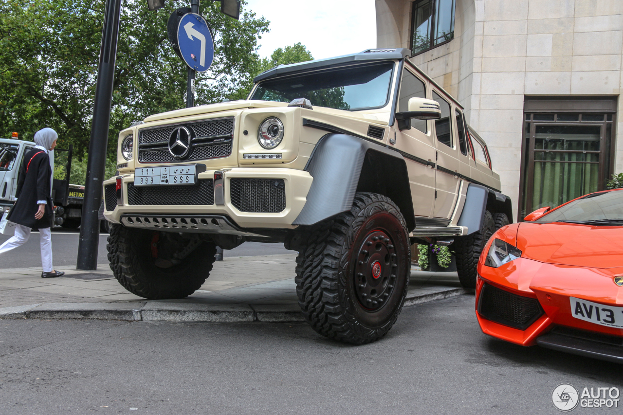 Mercedes benz g 63 amg 6x6 15 august 2015 autogespot for Mercedes benz g class 6x6 for sale