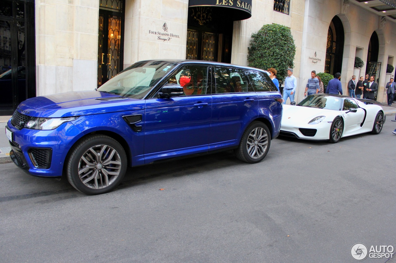 land rover range rover sport svr 17 ao t 2015 autogespot. Black Bedroom Furniture Sets. Home Design Ideas