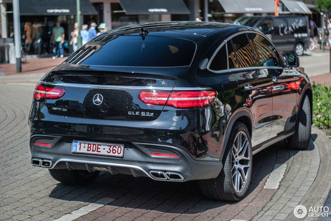 mercedes amg gle 63 s coup 17 august 2015 autogespot. Black Bedroom Furniture Sets. Home Design Ideas