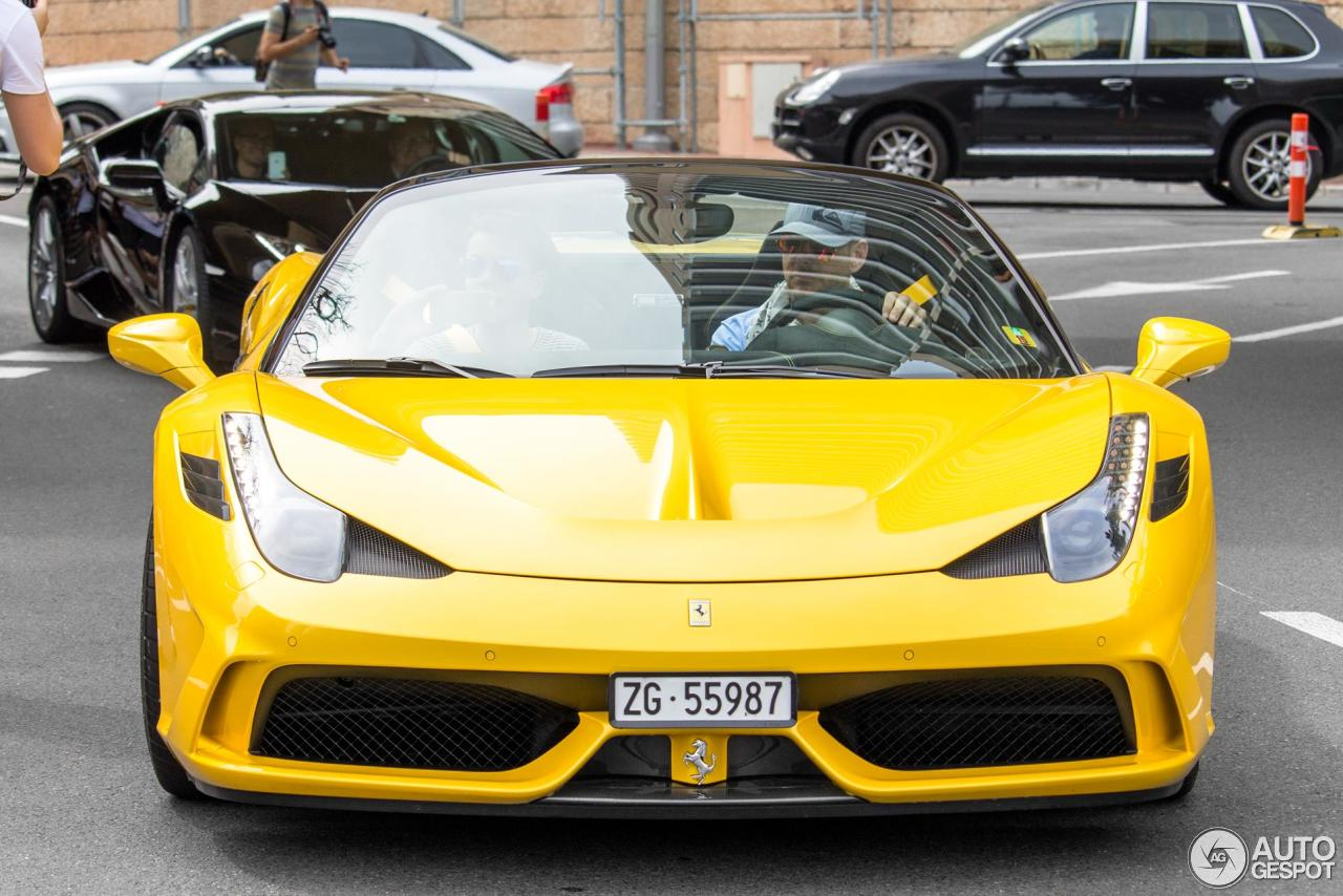 Ferrari 458 Speciale A Official Video Youtube Autos Post