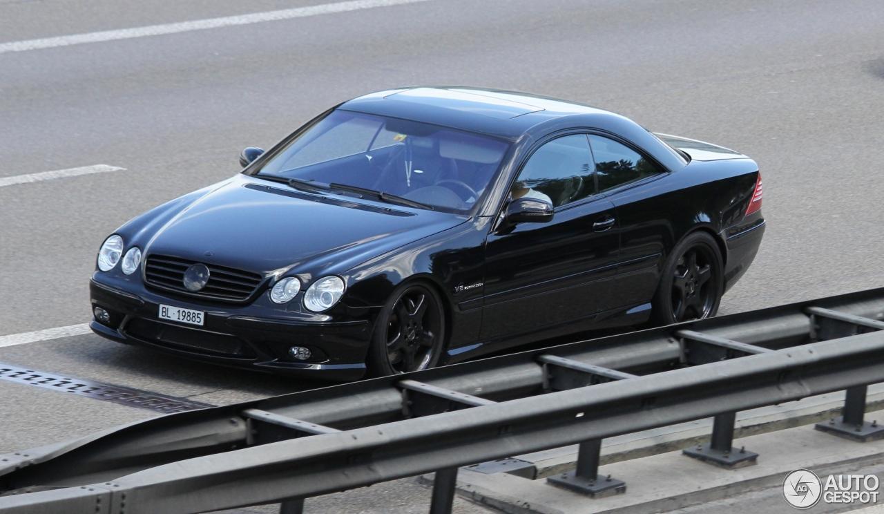 Mercedes benz cl 55 amg c215 kompressor 20 august 2015 for Mercedes benz amg kompressor