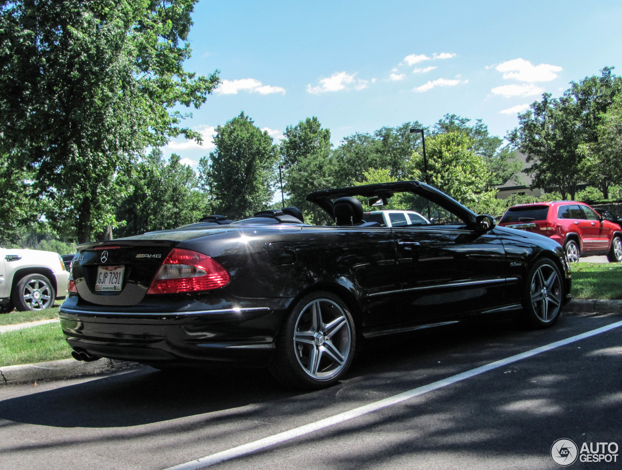 mercedes benz clk 63 amg cabriolet 20 august 2015 autogespot. Black Bedroom Furniture Sets. Home Design Ideas
