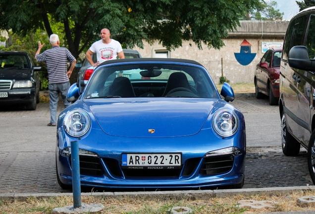 Porsche 991 Targa 4 GTS