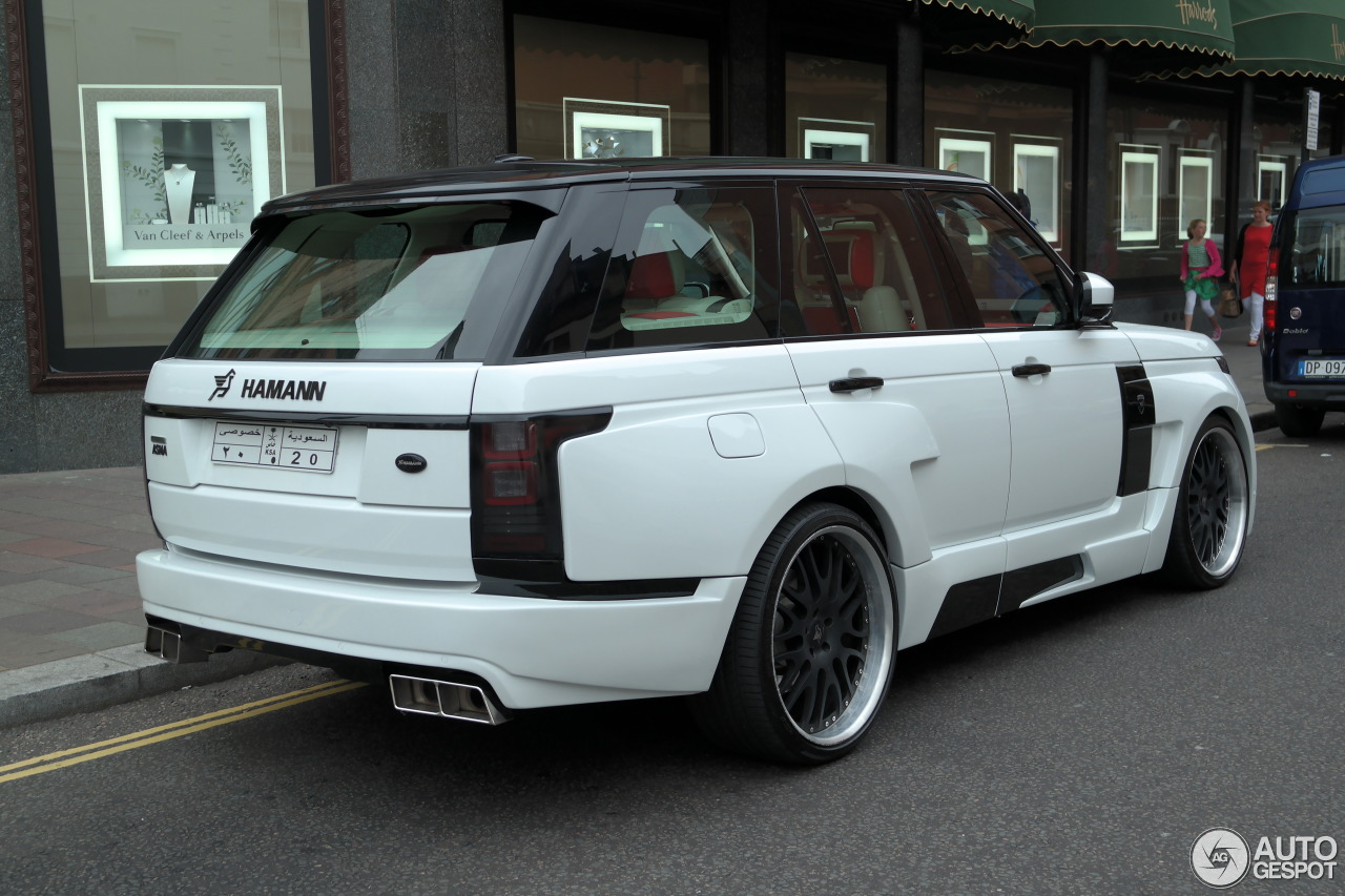 Land Rover Hamann Range Rover Myst 232 Re 22 August 2015