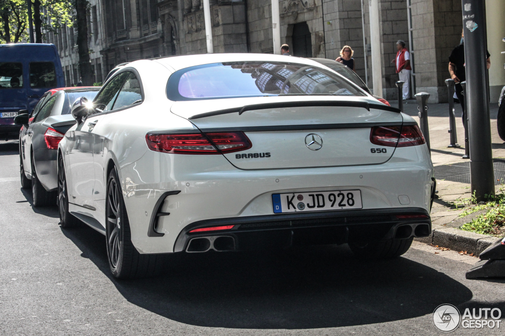 Mercedes Benz Brabus S B63 650 Coupe C217 22 August 2015 Autogespot