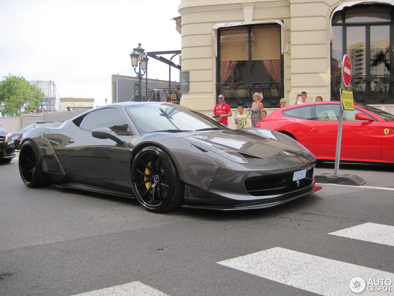 ferrari 458 italia liberty walk widebody 23 august 2015 autogespot. Black Bedroom Furniture Sets. Home Design Ideas