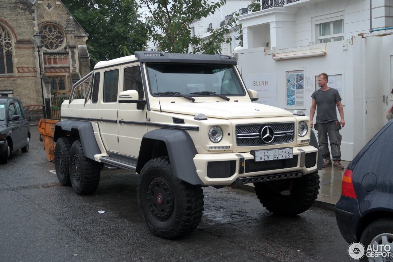 Mercedes benz g 63 amg 6x6 23 august 2015 autogespot for Mercedes benz g 63 amg 6x6