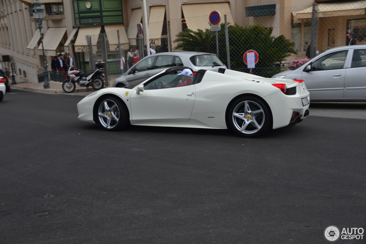 ferrari 458 spider 24 august 2015 autogespot. Black Bedroom Furniture Sets. Home Design Ideas