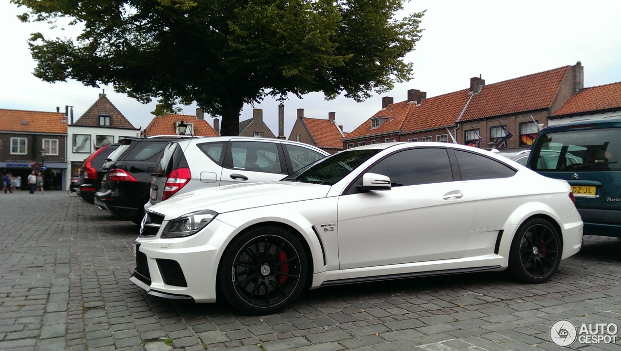 Mercedes benz c 63 amg coup black series 24 august 2015 for C series mercedes benz