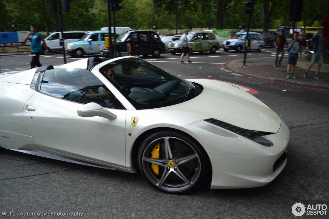ferrari 458 spider 25 august 2015 autogespot. Black Bedroom Furniture Sets. Home Design Ideas