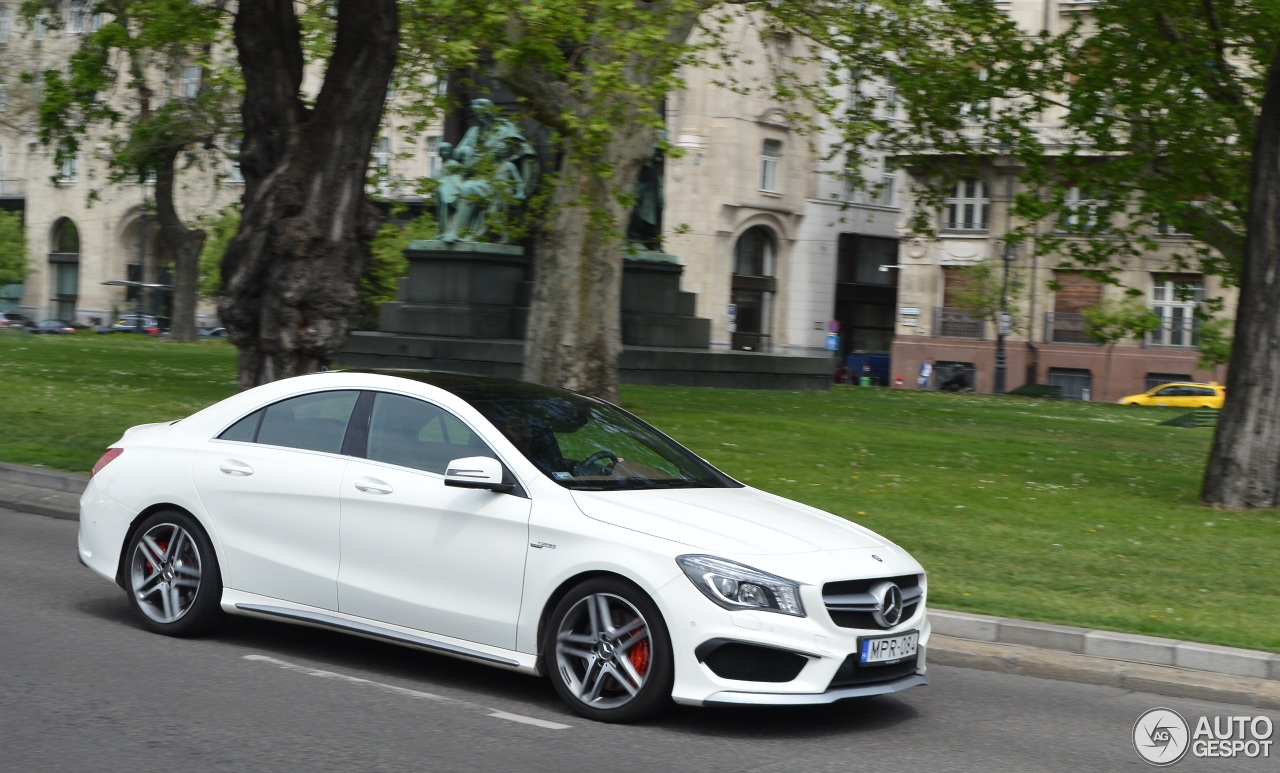 mercedes benz cla 45 amg c117 25 august 2015 autogespot. Black Bedroom Furniture Sets. Home Design Ideas