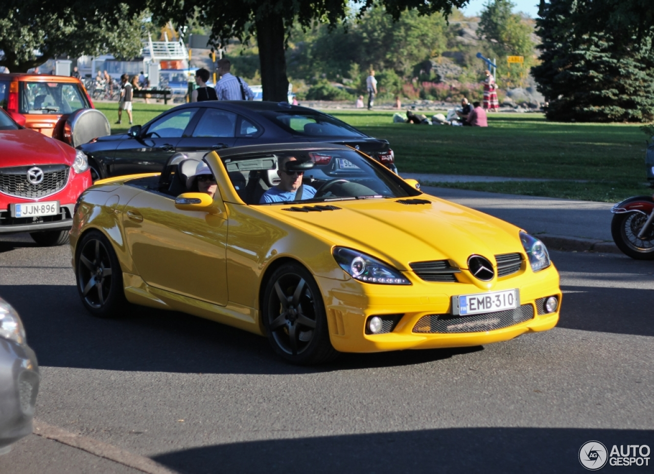 mercedes benz slk 55 amg r171 26 augustus 2015 autogespot. Black Bedroom Furniture Sets. Home Design Ideas