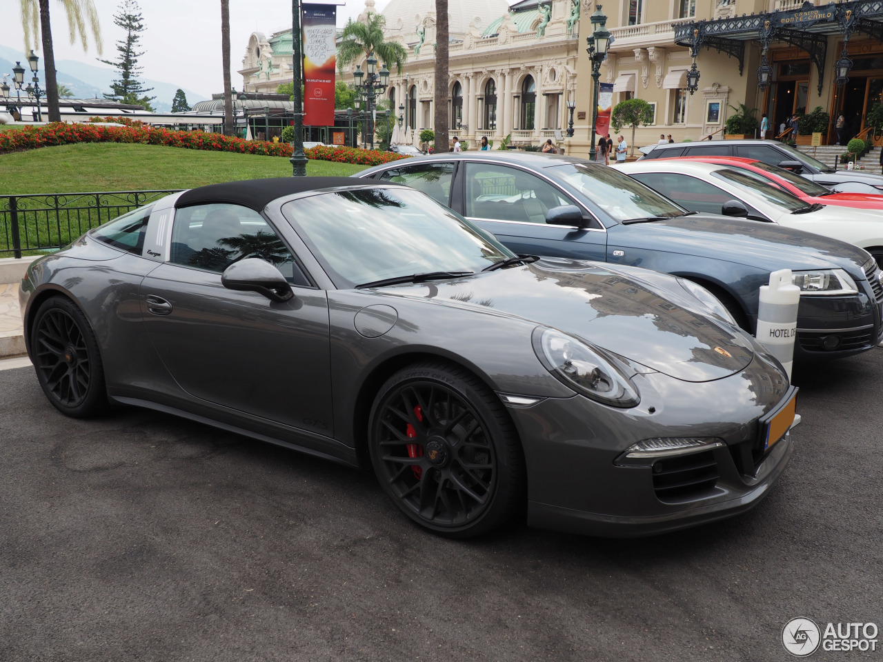 porsche 991 targa 4 gts 26 august 2015 autogespot. Black Bedroom Furniture Sets. Home Design Ideas
