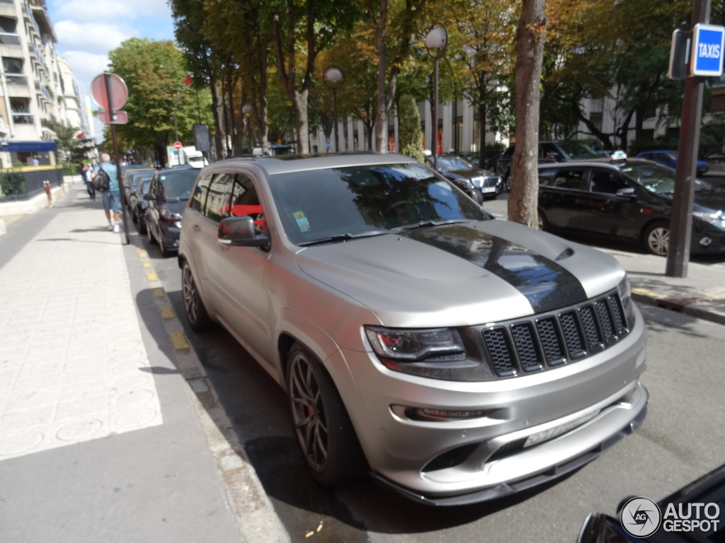 Jeep Grand Cherokee SRT8 2013 Hennessey HPE800  28 August 2015