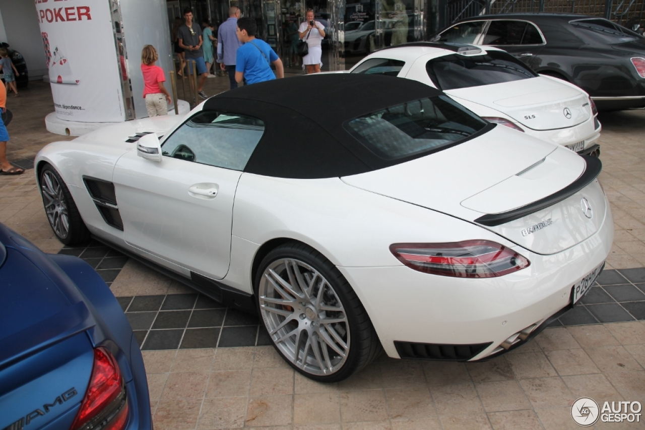 mercedes benz brabus sls amg roadster 28 august 2015 autogespot. Black Bedroom Furniture Sets. Home Design Ideas