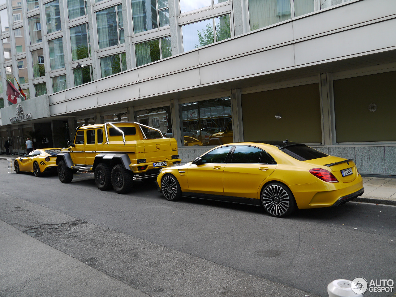 Mercedes Benz Mansory S63 Amg W222 29 August 2015 Autogespot
