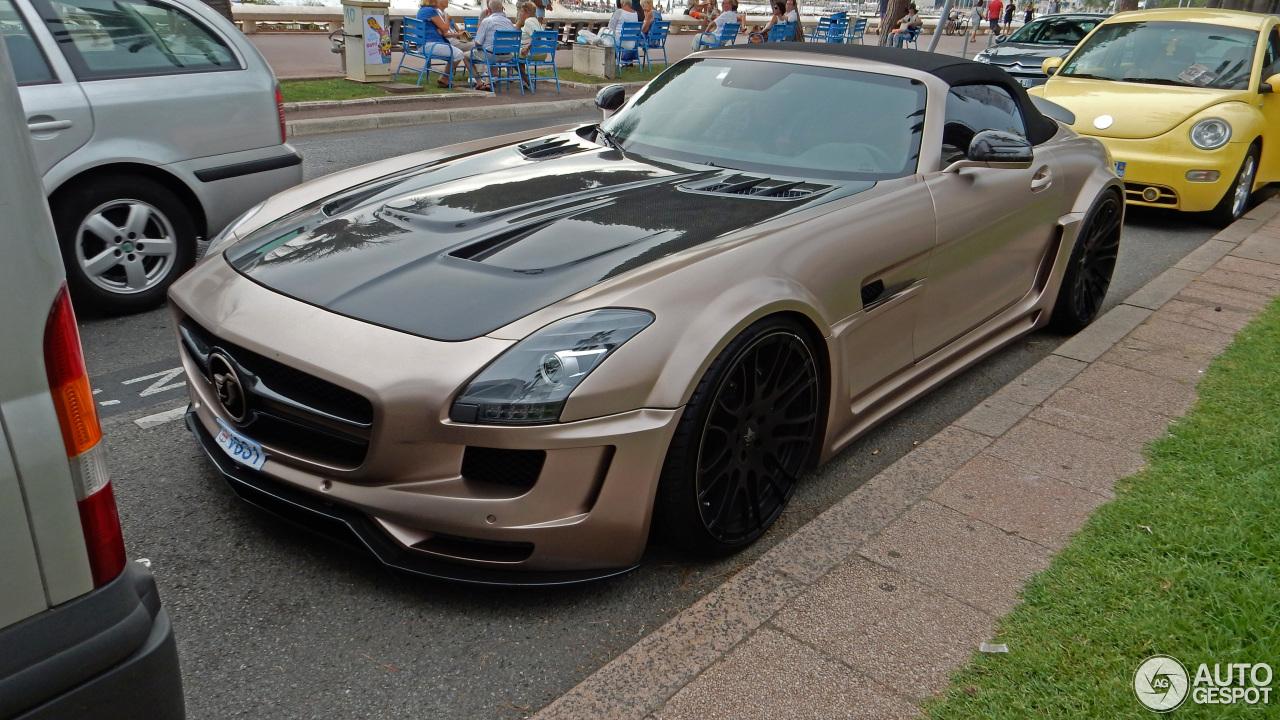 Mercedes benz hamann hawk sls amg roadster 30 august for 2015 mercedes benz sls amg convertible