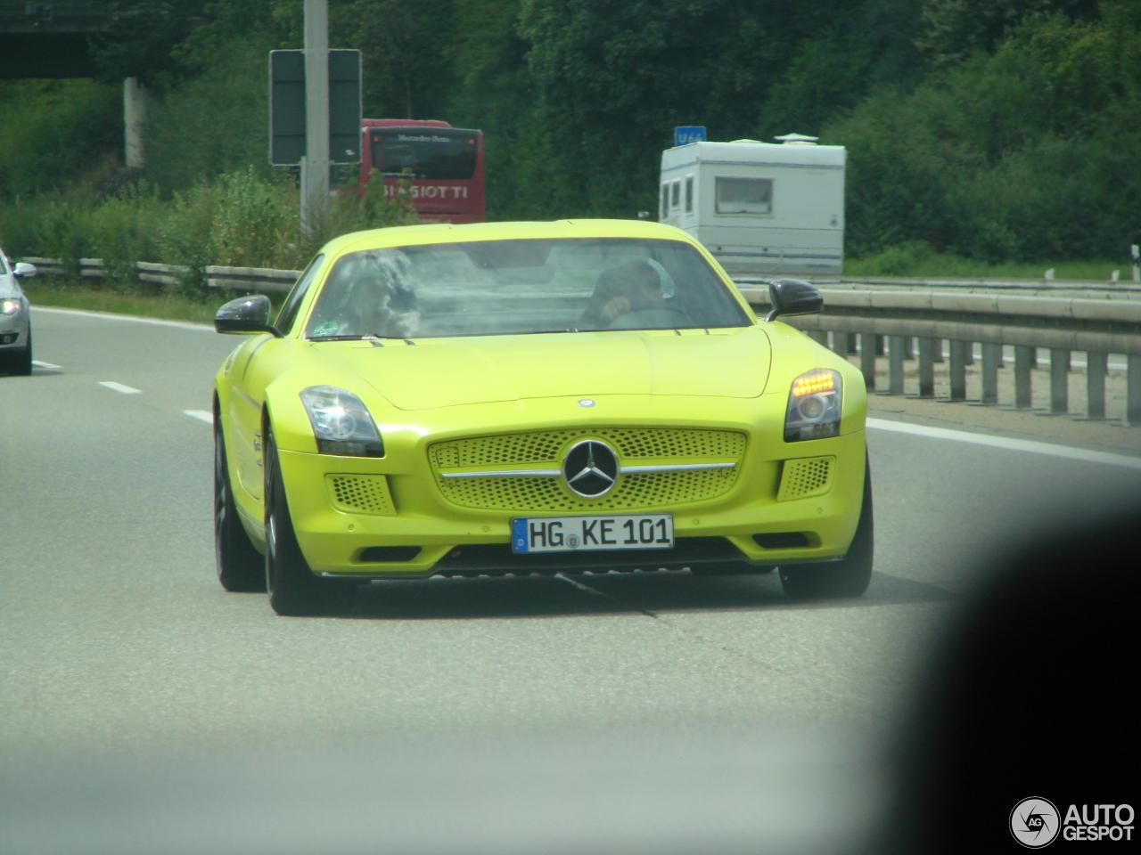 1 i mercedes benz sls amg electric drive 1 - Mercedes Benz Sls Amg Electric Drive Black