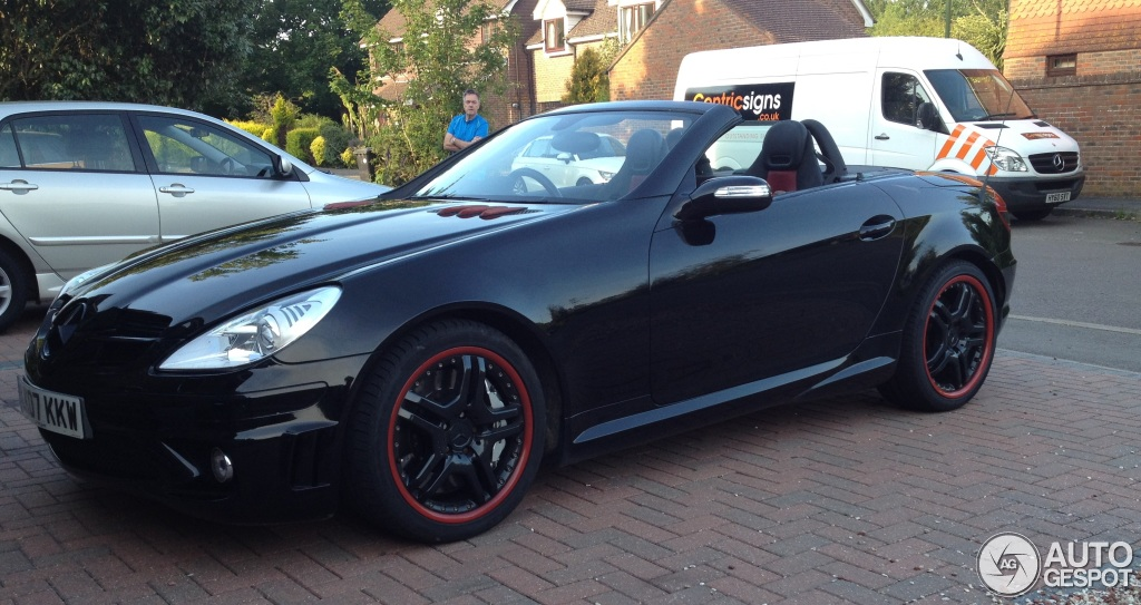 Mercedes Benz Slk 55 Amg R171 1 September 2015 Autogespot