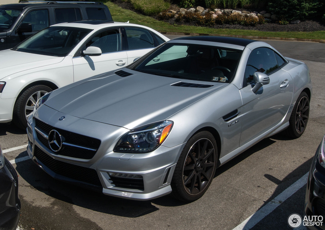 mercedes benz slk 55 amg r172 2 september 2015 autogespot. Black Bedroom Furniture Sets. Home Design Ideas