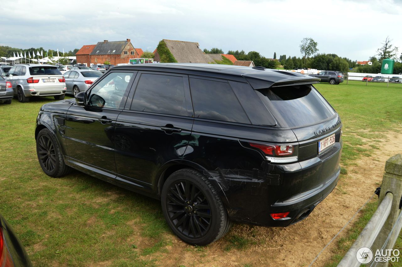 land rover range rover sport svr 3 septembre 2015 autogespot. Black Bedroom Furniture Sets. Home Design Ideas
