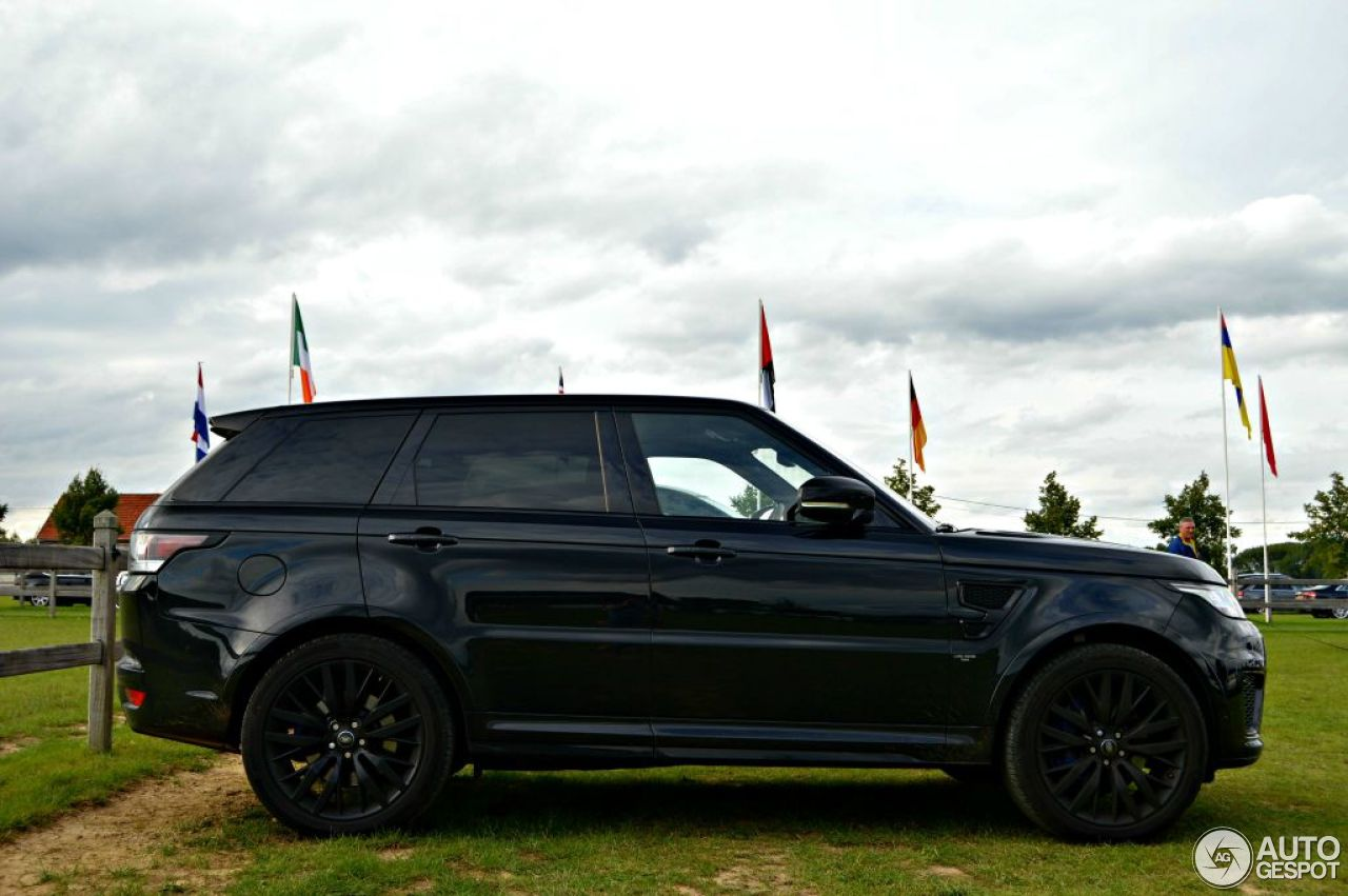 land rover range rover sport svr 3 september 2015 autogespot. Black Bedroom Furniture Sets. Home Design Ideas