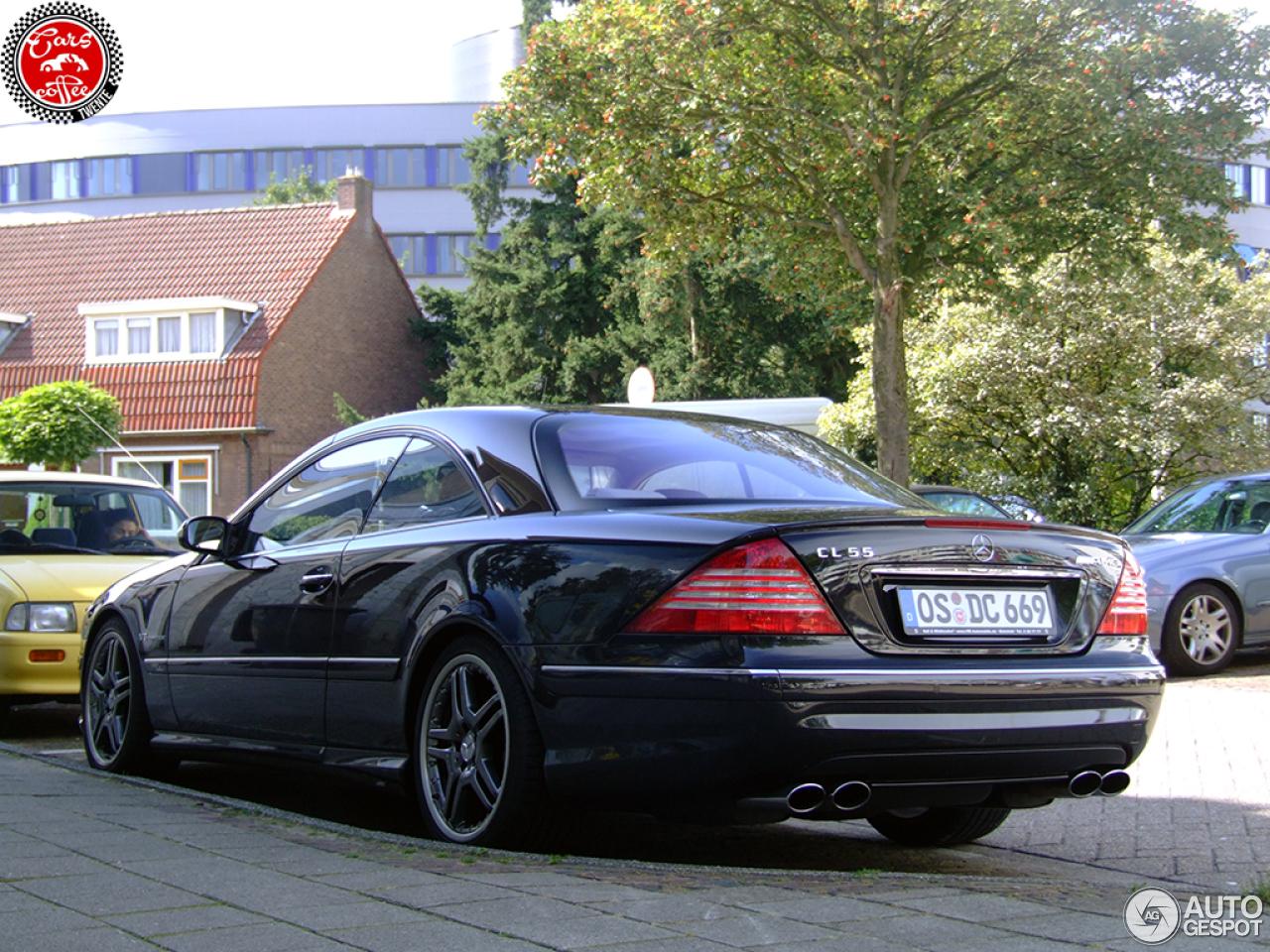 Mercedes benz cl 55 amg c215 kompressor 3 september 2015 for Mercedes benz cl 55 amg