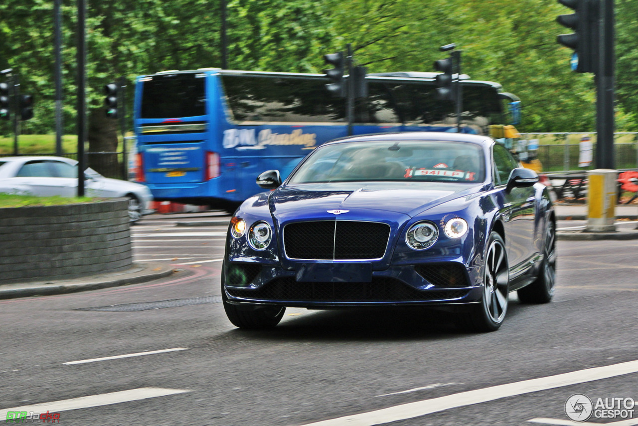 Bentley Continental GT V8 S 2016 - 4 September 2015 - Autogespot