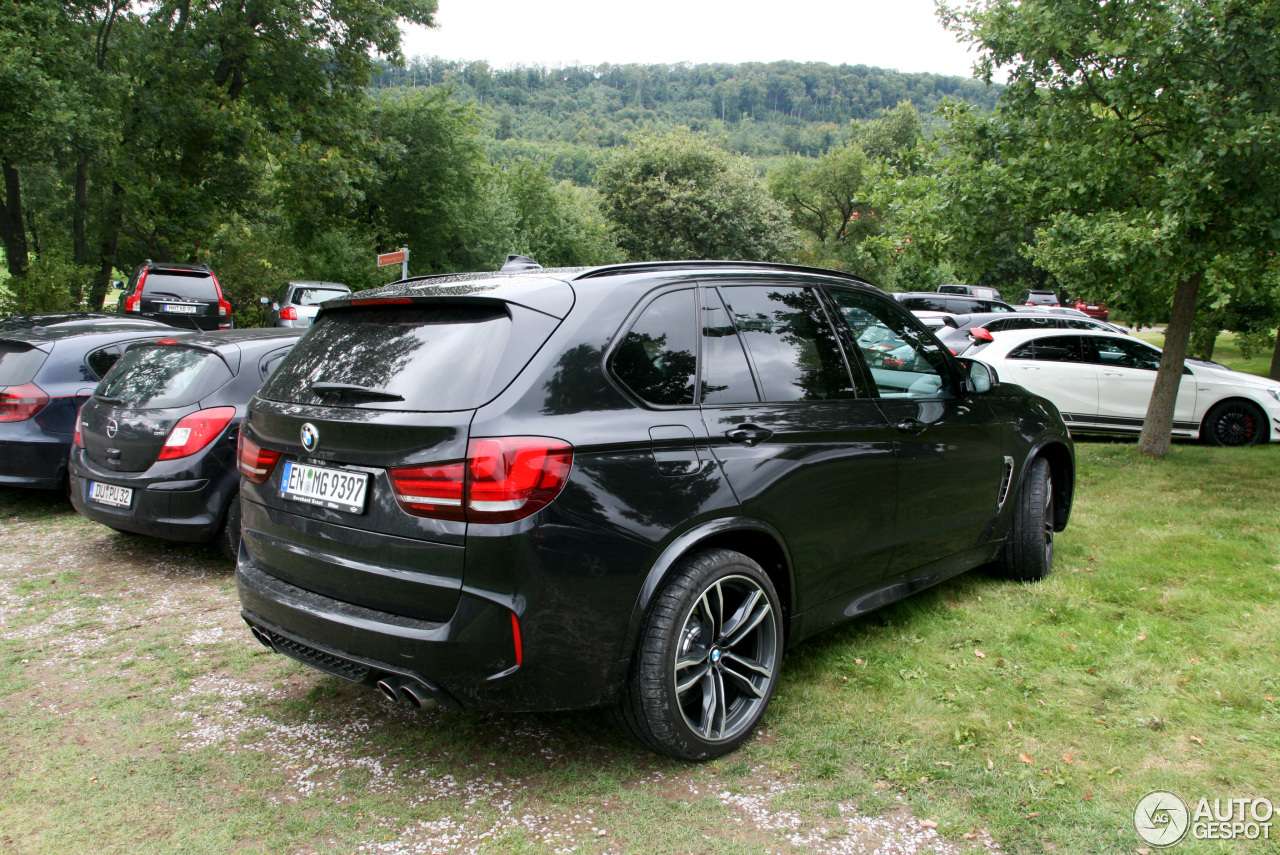 bmw x5 m f85 6 september 2015 autogespot. Black Bedroom Furniture Sets. Home Design Ideas