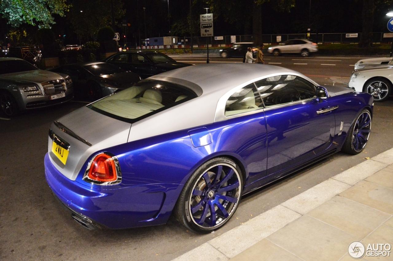 Rolls Royce Mansory Wraith 6 September 2015 Autogespot