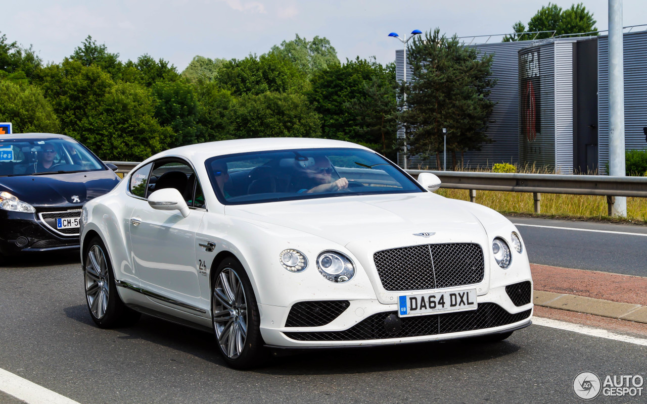 bentley continental gt speed 2016 8 september 2015 autogespot. Cars Review. Best American Auto & Cars Review