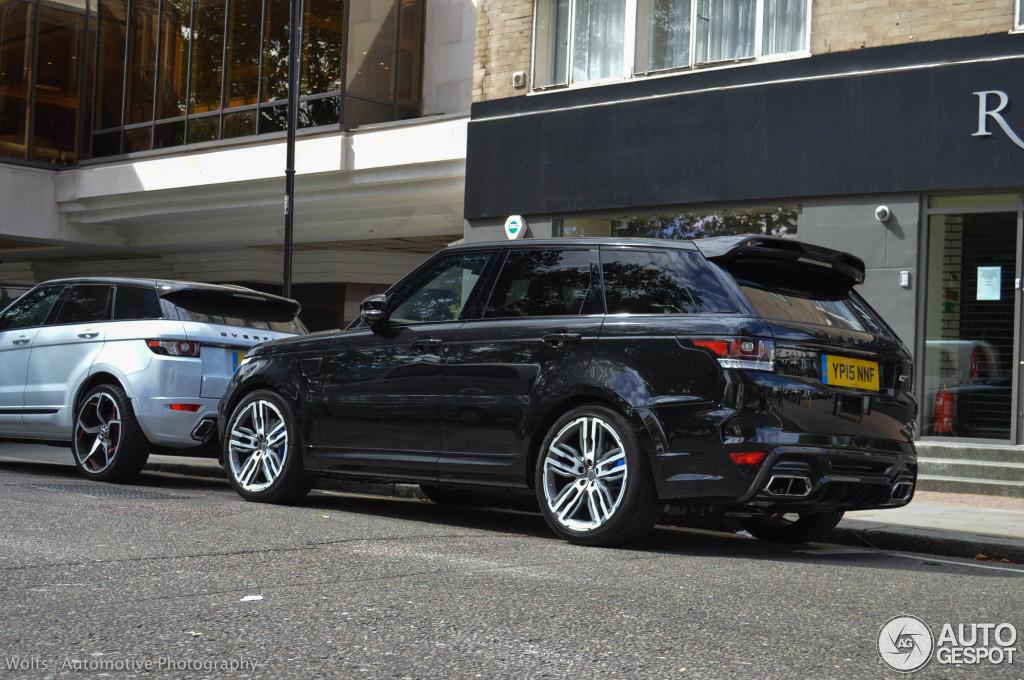 Land Rover Range Rover Overfinch Gt Svr 8 September 2015