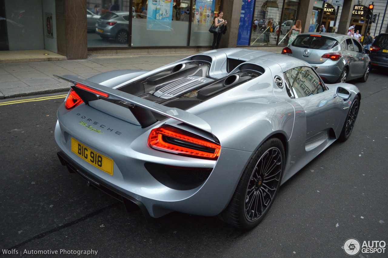 porsche 918 spyder 9 september 2015 autogespot. Black Bedroom Furniture Sets. Home Design Ideas