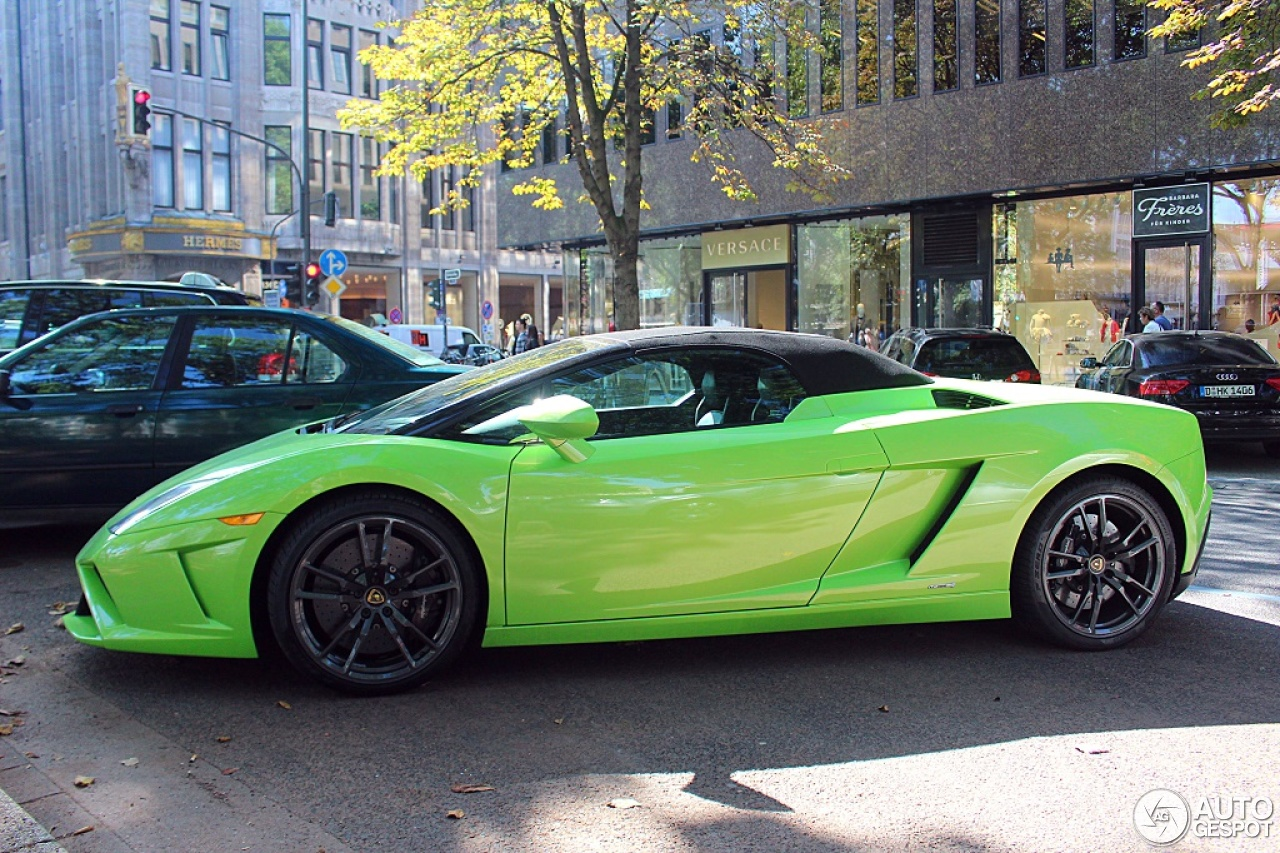 Lamborghini Gallardo LP5604 Spyder 2013  10 September 2015